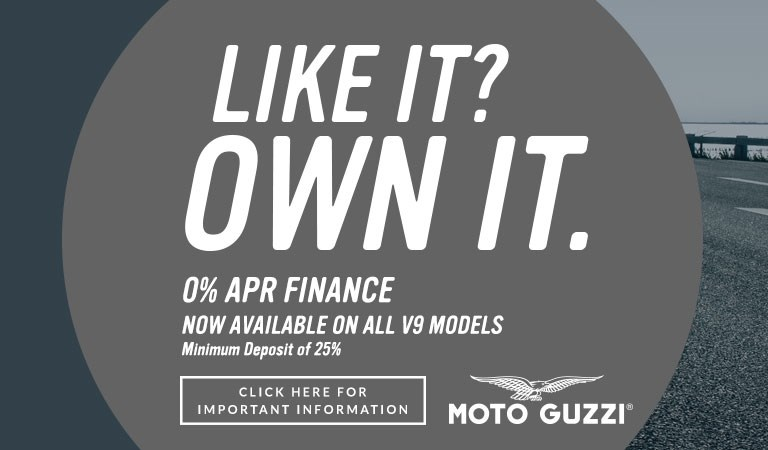 Moto Guzzi V9 Finance