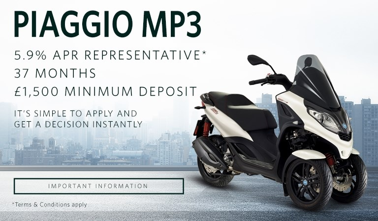 Piaggio MP3 5.9% PCP Offer