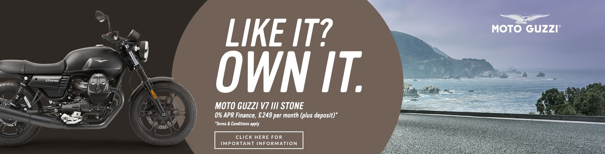 Moto Guzzi V7 III Stone Finance